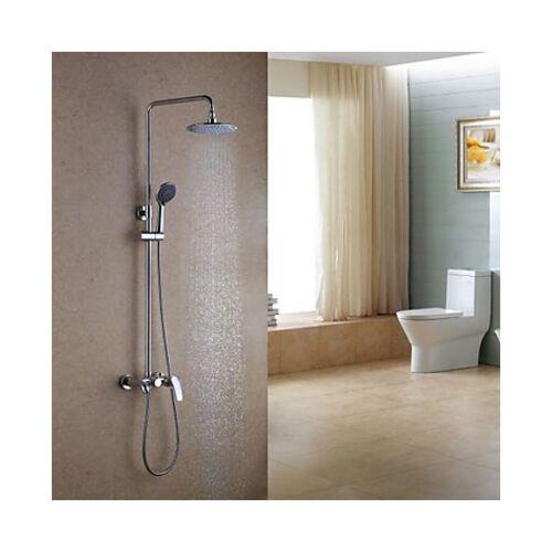 LOOKSHOP® Lookshop ® - Dusch- und Badewannenarmatur mit Duschkopf (8'') und