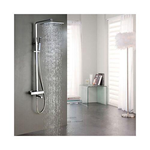 LOOKSHOP® Dusch- und Badewannenarmatur mit Thermostatfunktion, mit Duschbrause