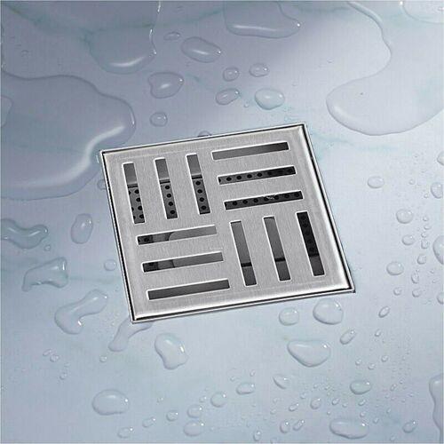 Bituxx - 12x12 Duschablauf Abfluss Duschabfluss Duschrinne