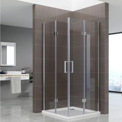 Duschbär Duschkabine Belle mit Falttüren Eckduschkabine aus