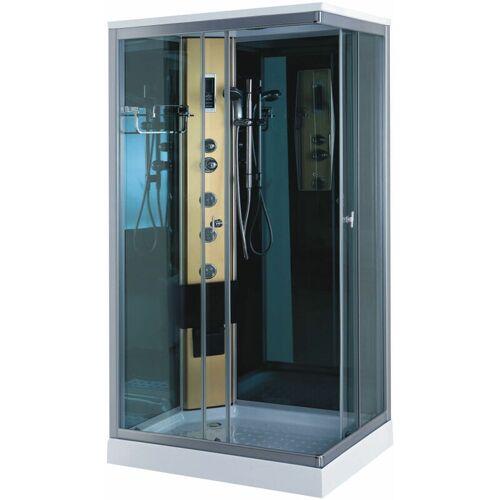 SIMBA Duschkabine mit Hydromassagesäule NEU Modell Portofino 100 x 70cm
