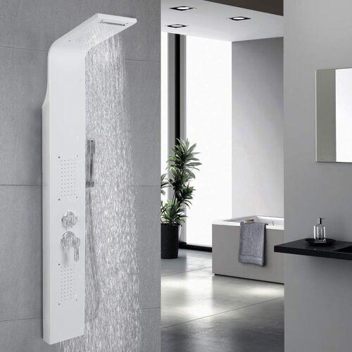 WYCTIN Duschpaneel Duschsäule Wasserfall Regendusche Massage Wasserspar