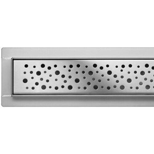 FALA Duschrinne Bodenablauf Modell Napo Edelstahl Siphon Ablaufrinne 50 cm