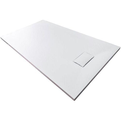 BERNSTEIN Duschtasse Duschwanne rechteckig GT-Serie aus SMC - Breite 80 cm