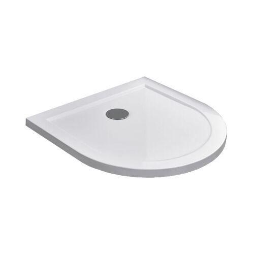 GLASDEALS Duschtasse für U-Duschen 90 x 90 cm - Weiß