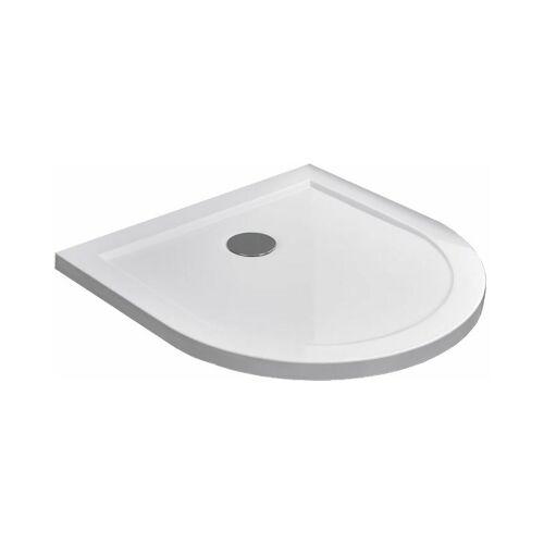 GLASDEALS Duschtasse für U-Duschen 100 x 100 cm - Weiß - GLASDEALS