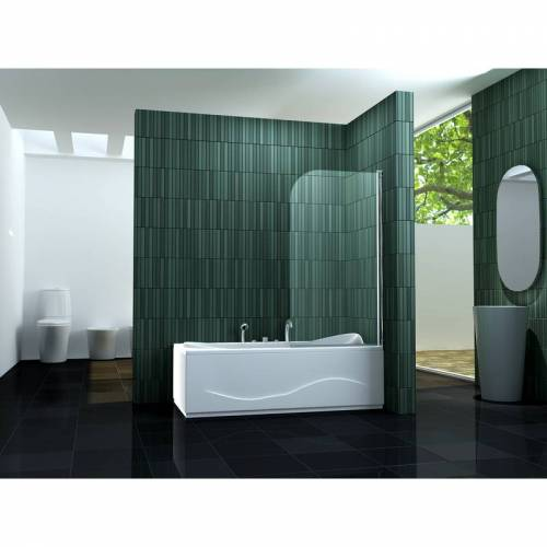 IMPEX-BAD Duschtrennwand SOLTO (Badewanne) - IMPEX-BAD