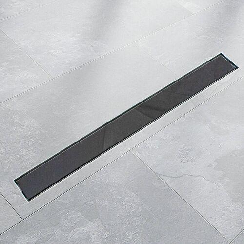 BITUXX 100cm Edelstahl Duschrinnen Ablaufrinnen Bodenablauf Duschrinne