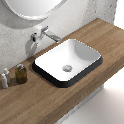 Bernstein - Einbauwaschbecken Waschbecken NT503 aus Mineralguss (Solid