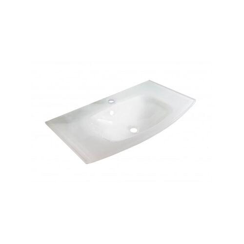 FACKELMANN LUGANO Waschbecken 80,5 cm aus Glas-'73609' - Fackelmann