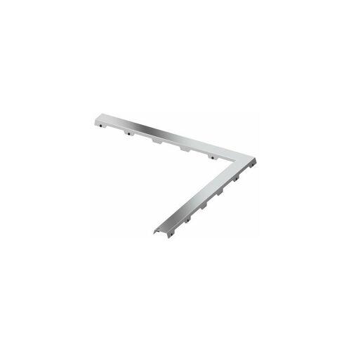 TECE Fliesenmulde drainline 'steel II' für Winkelrinne 90 Grad, 611082,