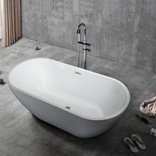 ARATI BATH & SHOWER Freistehende Ovale Badewanne Unabhängige Installation Design Coo