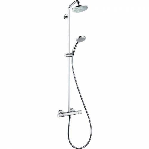 Hansgrohe 20069 1 Croma 160 Showerpipe Duschsystem 27135 000, Chrom - Hansgrohe