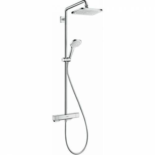 Hansgrohe Croma E Showerpipe 280 1jet mit Thermostat - 27630000 - Hansgrohe