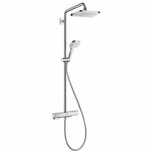 Hansgrohe Croma E Showerpipe 280 1jet mit Thermostat Chrom, 27630000 - Hansgrohe