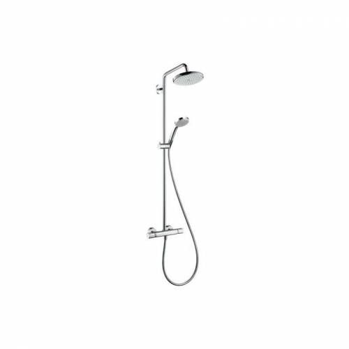 Hansgrohe Croma Showerpipe 220 1jet mit Thermostat, chrom - 27185000 - Hansgrohe