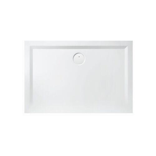 HOESCH Mineralguss-Duschwanne MUNA 800 x 700 x 30 mm weiß 4163xA.010 - Hoesch