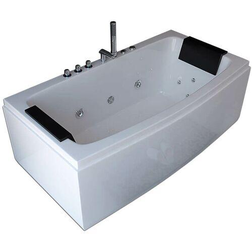 Home Deluxe - Whirlpool Badewanne Noor - weiß   Whirlwanne, Pool,