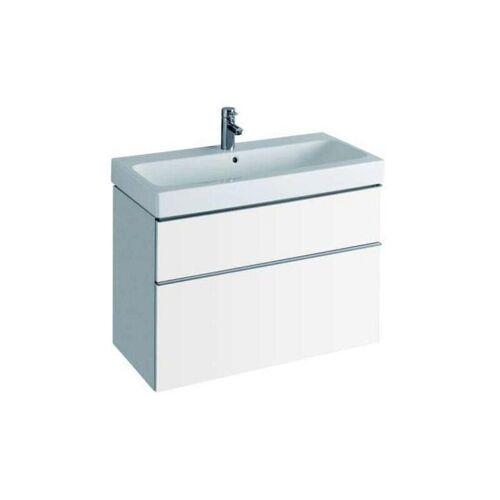 KERAMAG Waschbecken icon 90x48,5cm Keratect weiß(alpin) - Keramag