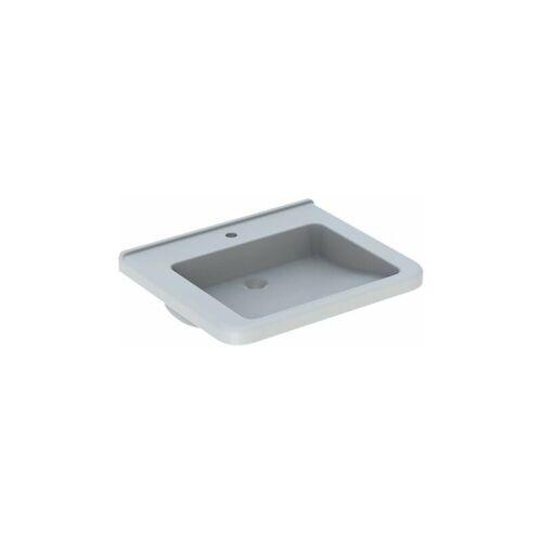 KERAMAG Renova Nr. 1 Comfort, Waschtisch, unterfahrbar,650x550 mm, mit