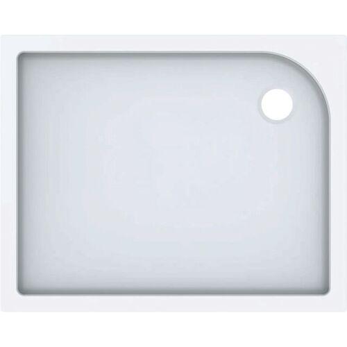 Keramag - Geberit Rechteckduschwanne Tala, glänzend/ weiß, 100 x 80 cm