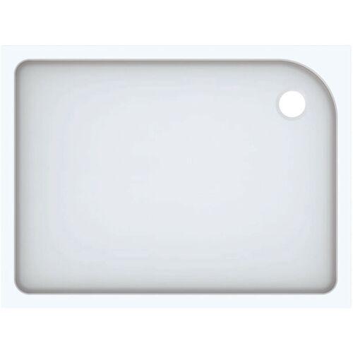 KERAMAG Geberit Rechteckduschwanne Tala, glänzend/ weiß, 120 x 90 cm