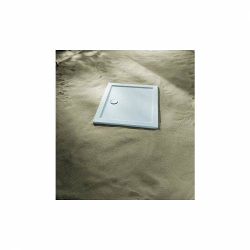 KORALLE Duschwanne Terra 100x90x3,5cm, weiss - VP186100090201 - Koralle