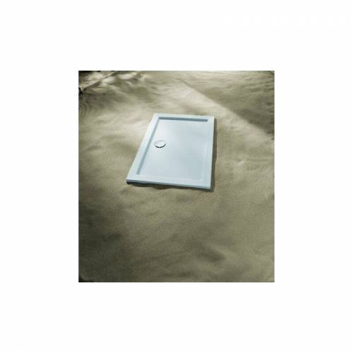 KORALLE Duschwanne Terra 120x80x3,5, weiss - VP186120080201 - Koralle