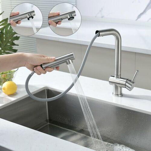 Auralum Wasserhahn Küche Küchenarmatur Armatur Spüle Spültischarmatur