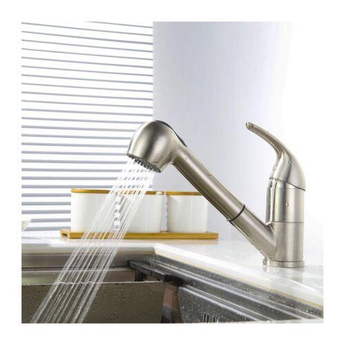 HOMELODY Küchenarmatur mit ausziehbarem brause Wasserhahn Küche Armatur