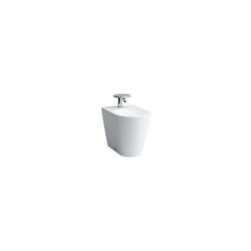 LAUFEN Kartell Stand-Bidet, 3 Hahnlöcher, 370x545x430, Farbe: Snow (weiß matt)