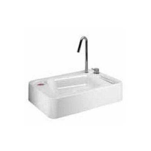 Lineabeta Keramikbecken Waschbecken 70cm weiß, 53725.09