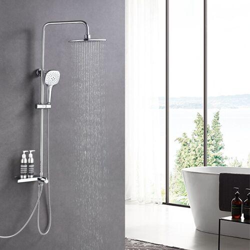 LONHEO Duschset Duschsystem Regenduschset Duschsäule Regendusche Kopfbrause