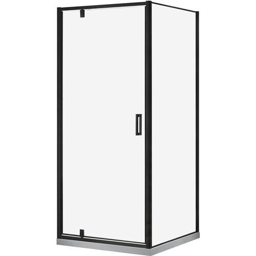 Marwell Glasdusche - Cube Eckdusche 90 x 90 x 200 cm - 6 mm ESG