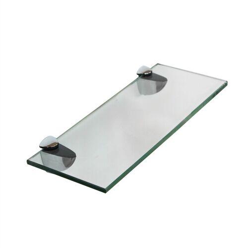 Melko Glasablage, Glasregal ideal für Bad, Dusche und zur modernen