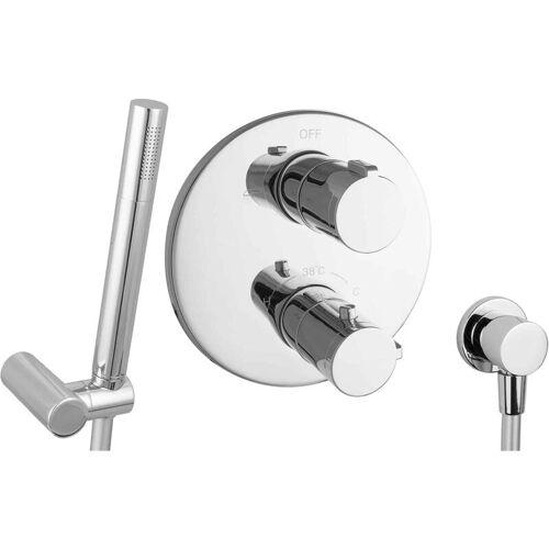 PAULGURKES Set für Badewannen mit Thermostat ohne Wanneneinlauf - PAULGURKES