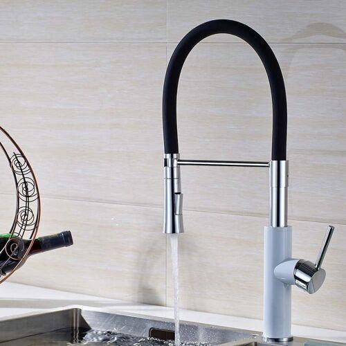 SANLINGO Design Küchenarmatur Spülbecken Spültisch Einhebelmischer Armatur Chrom