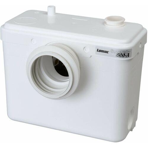 LOMAC SFA Lomac Suverain 500-A Fäkalienhebeanlage WC Hebeanlage Hecksler