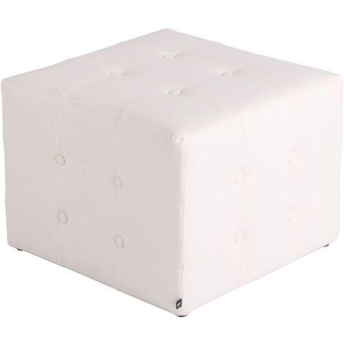 CLP Sitzhocker Cubic-weiß