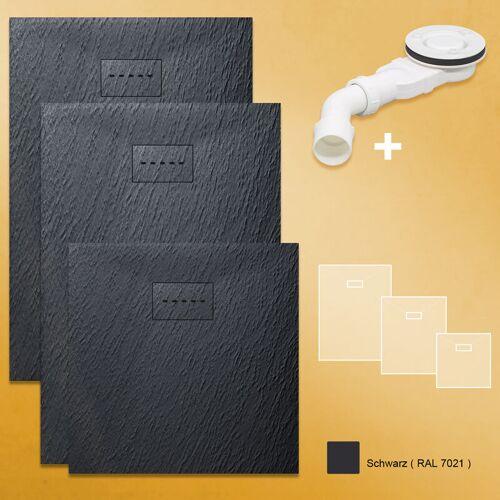 SONNI Design Duschwanne Duschtasse Flach aus SMC Brausewanne Super Flache 120