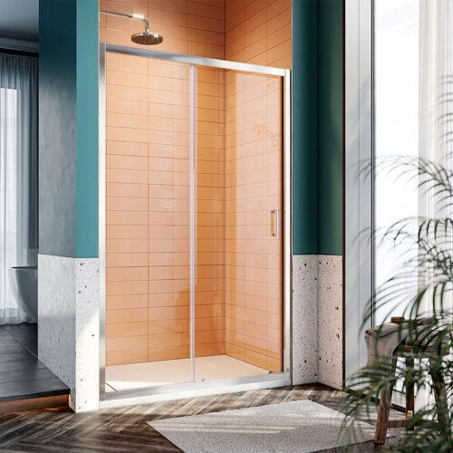 SONNI Duschkabine Duschtüren 120x185cm Duschschiebetür Dusche