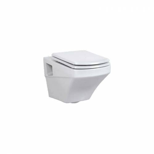 CREAVIT SORTI Wand-WC mit Bidetfunktion, weiß