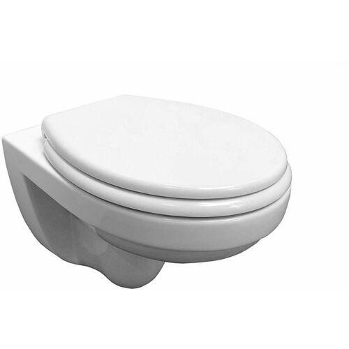 Adob - , WC Keramik,wandhängeToilette mit passendem WC Sitz mit