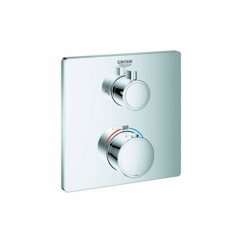 Grohe Thermostat-Brausebatterie Thermostat-Brausebatterie GROHTHERM mit