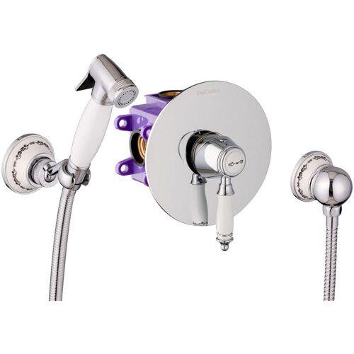 Paulgurkes - Unterputz Bidet-Set Intimdusche WC-Brause Hygienedusche