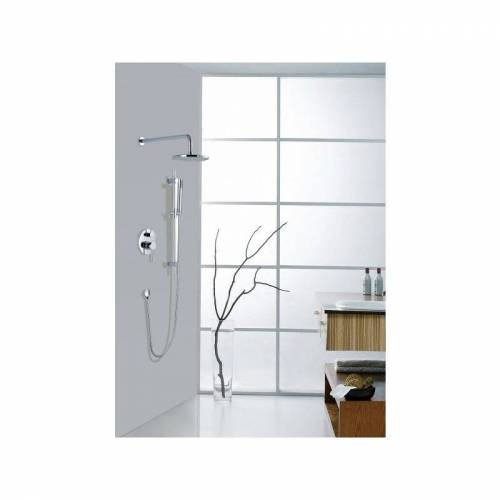 TAIXU Unterputz-Duschsystem Duschsäule XX6106 inkl. Unterputz-Grundkörper &