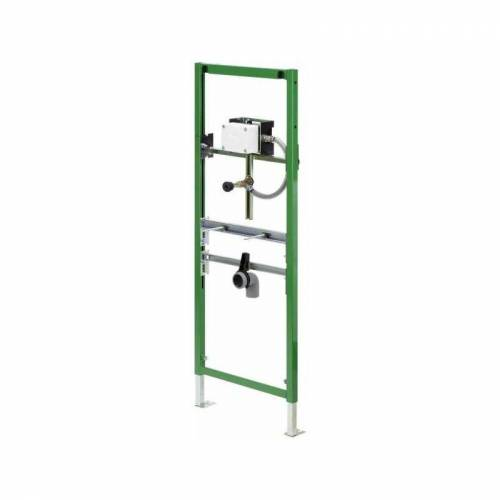 Viega Urinal-Element Viega Eco Plus 8164.5 in 1130mm Stahl grün