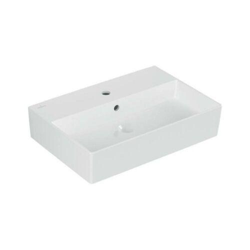 Villeroy & Boch Waschtisch Waschtisch Memento 2.0 600x420mm Weiß Alpin
