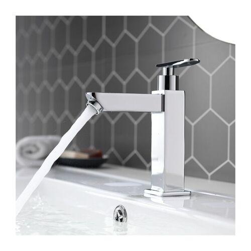 HOMELODY Kaltwasser Armatur Wasserhahn Bad Waschtischarmatur Waschbeckenarmatur