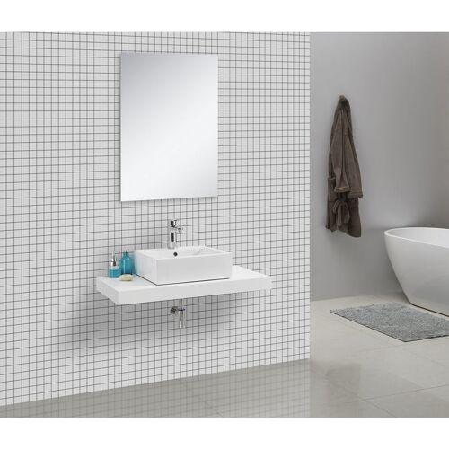 IMPEX-BAD Waschtischkonsole 100 x 50 cm (weiß)